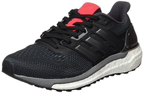 adidas Damen Supernova Laufschuhe, Schwarz (Core Black / Iron Metall / Core Pink), 40 EU
