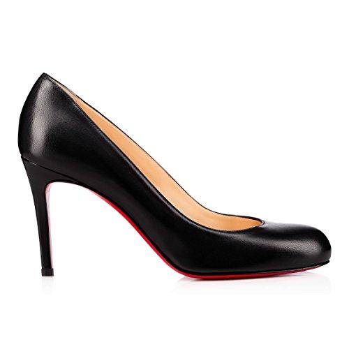 christian-louboutin-womens-3160586bk01-black-leather-pumps