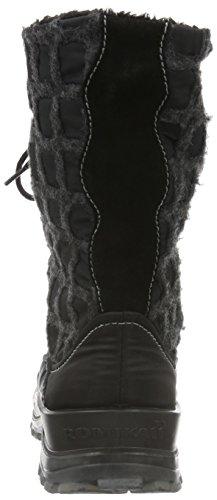 ROMIKA Alaska 126, Bottes mi-hauteur avec doublure chaude femme Noir - Noir