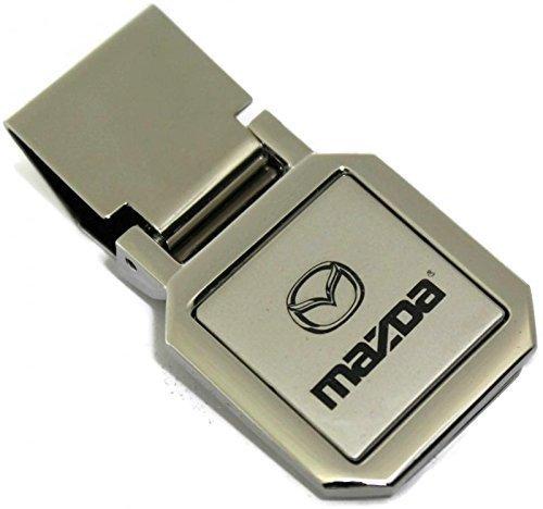 Preisvergleich Produktbild dantegts Mazda Slim Geld Clip silvertwo Ton Spring Loaded Mazda3Mazda6RX-7RX-8