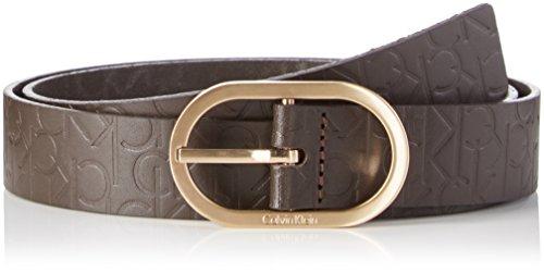 Calvin Klein Jeans MISH4 Logo, Cintura Donna, Braun (Espresso 225), 85 cm