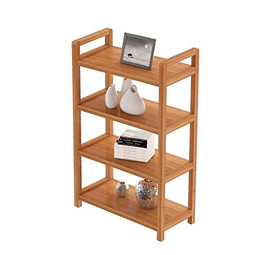 ZWJLIZI Scaffale da Cucina Scaffale Scaffale Scaffale libreria Bamboo 4th Floor Lunghezza 35/50 / 70cm 25cm Larghezza 100 cm di Altezza (Dimensioni : 35CM)