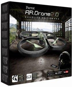 Preisvergleich Produktbild AR.Drone Parrot 2.0 Elite Edition (Jungle)