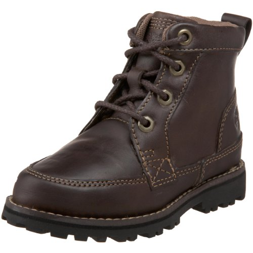 Timberland 80743 Asphalt Trail FTK, Unisex - Kinder Stiefel, Braun (Dark Brown Nubuck Burnish), EU 34, (US 2)