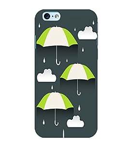 Umbrellas 3D Hard Polycarbonate Designer Back Case Cover for Apple iPhone 6s Plus :: Apple iPhone 6s+