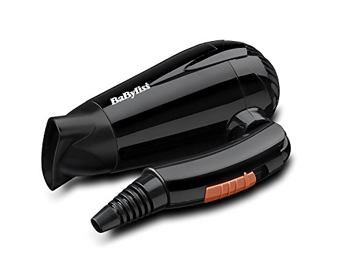 HIGH QUALITY BABYLISS 2000W TRAVEL COMPACT HAIR DRYER DUAL