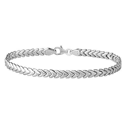 Damen Silber Armband TILLIA 925 Sterling Silber (19)