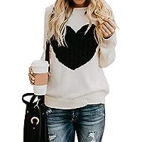 fd4e74d875f181 Maglione Donna Felpa Ragazza Sweatshirt Oversize Pullover Invernali  Primavera Manica Lunga Casual Moda Girocollo Tops Regalo
