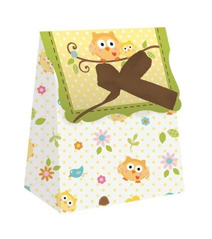 Happi Tree en boîte avec ruban - Lot de 6