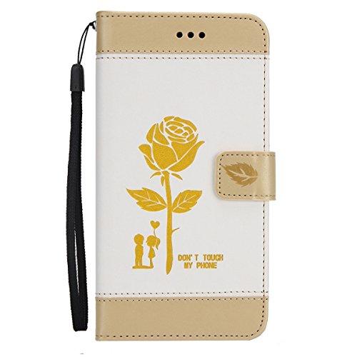 Custodia-Cover-Huawei-P10-Lite-Pell-Portafoglio-JAWSEU-Lusso-Design-Creativo-Huawei-P10-Lite-Custodia-Cover-Shock-Absorption-Protectiva-Bumper-Custodia-per-Huawei-P10-Lite-Leather-Flip-Cover-con-Morbi