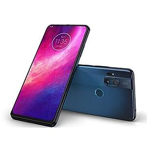 Motorola One Hyper (6,5 Inc FHD+ display, Rear Camera 64MP/Front Camera 32MP, 128 GB/4 GB, Android 10, Dual SIM Smartphone), Deep Sea Blue