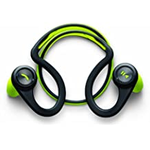 Plantronics BackBeat Fit - Auriculares In-ear inalámbricos (Bluetooth, 105 dB, 50 Hz - 20 kHz, a prueba de agua), color negro y verde
