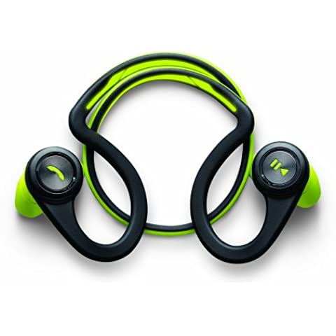 Plantronics Back Beat Fit - Auriculares biaural, color verde