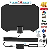 Best Antenne TV Indoor - Antenna TV, Antenne HDTV 120 Miglia Digital Freeview Review