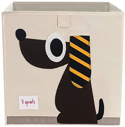 3 Sprouts Aufbewahrungsbox Hund -