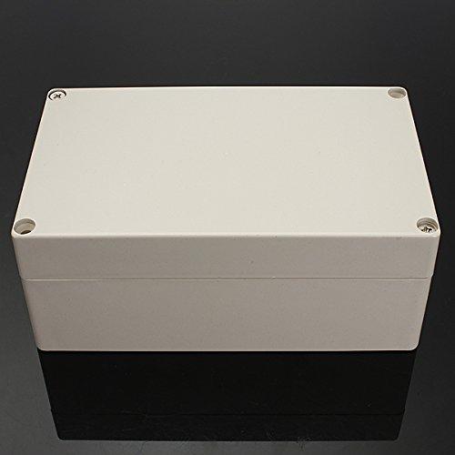 ELEGIANT 1 Stück 6 Größe Wasserdicht IP65 ABS Plastik elektronische Gehäuse Box Anschlußdose 200*120*75