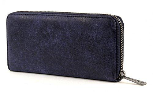 Fritzi aus Preussen Nicole FaP-PRE-15-24 Damen Geldbörsen 20x10x3 cm (B x H x T), Rot (Bordeaux-V 23) Atlantic (Blau)