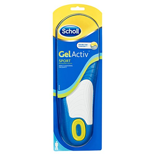 Scholl GelActiv Einlegesohlen Sport (Größe 40-46,5), 1 Paar