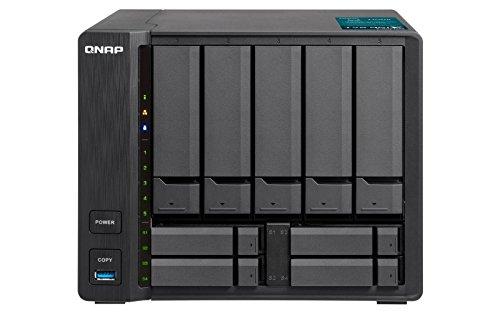 Preisvergleich Produktbild QNAP TVS-951X-2G Desktop NAS Gehäuse mit 2 GB DDR4,  Powerful 9-Bay Storage Server