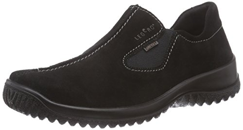 Legero Softshoe Mocassini, Donna, Nero (Schwarz 00), 37 (4 Damen Uk)