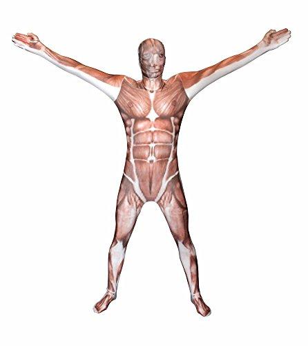 Morphsuits MPMSL - Kostüm Muskel, L
