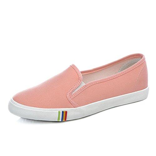 Chaussures de toile/Chaussures de couleur unie à fond plat Fu/Chaussures Casual pour les etudiants B