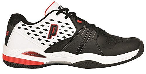 Prince Warrior M-Zapatillas da uomo, UOMO, Warrior M, bianco, 41