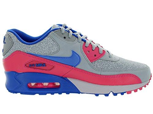 Nike Wmns Air Max 90, Scarpe sportive, Donna Pink/Blu/Grigio