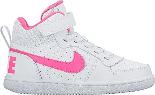 Mid Nike Tribunal Borough (psv) - Branco / Mehrfarbig Explosão Rosa