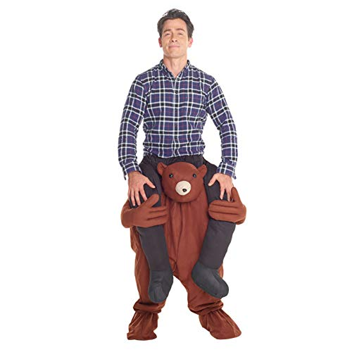 Morph MCPBT - Teddy Huckepack Kostüm - Uni Größe