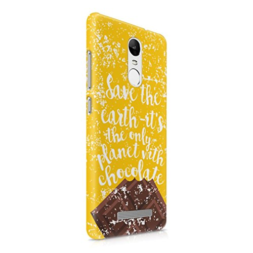 save-the-earth-its-only-planet-with-chocolate-plastic-phone-case-cover-shell-for-xiaomi-redmi-note-3