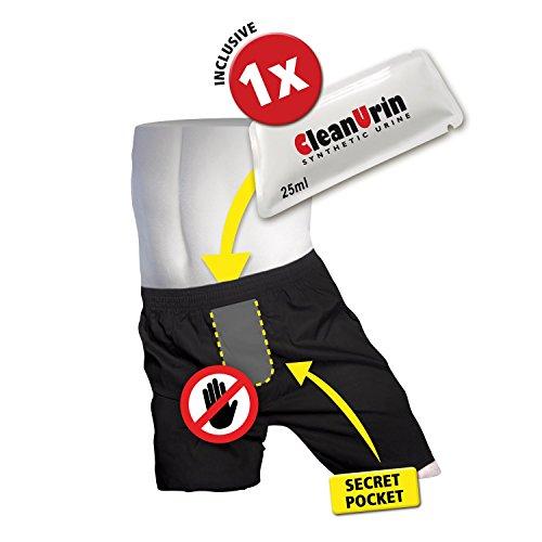 AntiParanoiaPack (inkl. 25ml CleanUrin) - Clean Urin (M, Boxershorts)