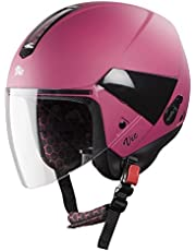 Steelbird Hi-Gn SBH-5 VIC Open Face Helmet with Plain Visor