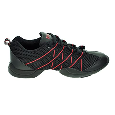 Bloch 524 Rote Criss Cross Tanz Sneaker Größe 40