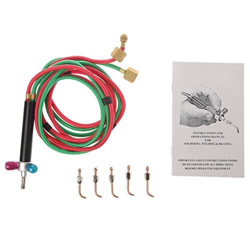 zrshygs Welder Set Gas Oxygen Welding Torch Acetylene Cutting Kit Fr Jewelry Dental Tool -