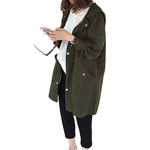 Jannyshop Abrigo Mujer Moda Coreana Mujeres Primavera