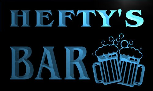 w022279-b-hefty-name-home-bar-pub-beer-mugs-cheers-neon-light-sign