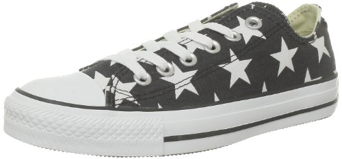 Converse Chuck Taylor All Star Big Star Ox, Baskets mode femme Noir (Noir/Blanc)