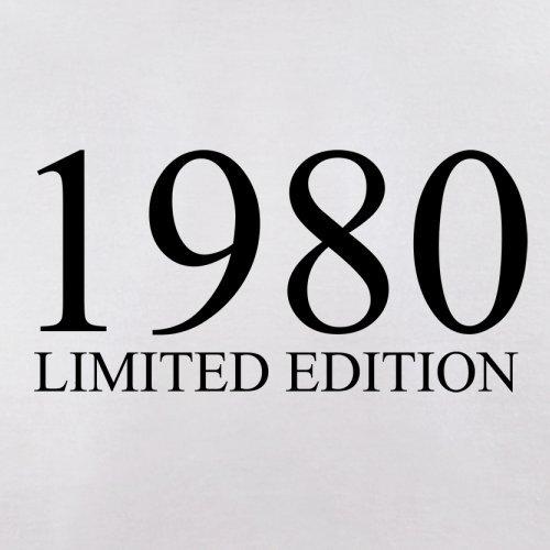 1980 Limierte Auflage / Limited Edition - 37. Geburtstag - Herren T-Shirt - 13 Farben Weiß