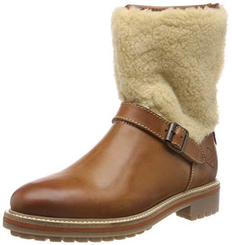 GANT Footwear Damen Natalie Biker Boots, Braun (Cognac/Camel G423), 37 EU