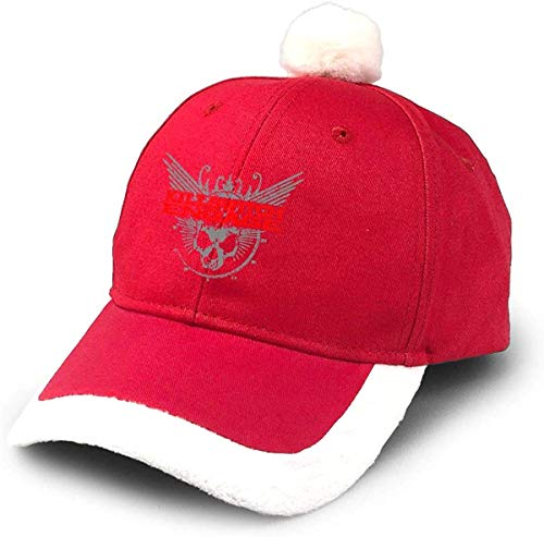 GGdjst Weihnachtsmützen, Killswitch Engage Logo Christmas Hats Red Santa Baseball Cap for Kids Adult Families Celebrate New Year Party