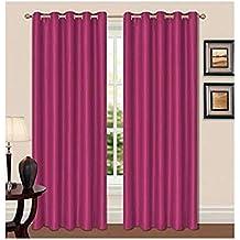 Lujo suave cortinas opacas térmica superior cromado anillo cortinas para dormitorio autocaravanas y ahorro de energía