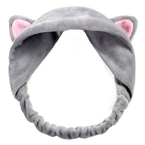 ZEARO Modisch Katze-Ohr Stirnband Haarordnung elastisch Haarband aus Polyester Nylon