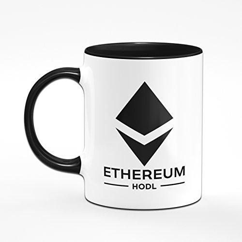 Tasse Etherum - ETH HODL - Kaffeetasse Blockchain - Kaffee - 2