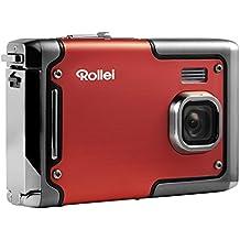 Rollei Sportsline 85 - Fotocamera Digitale, 8 Megapixel, Full HD Video, Impermeabile Fino a 3 Metri - Rosso