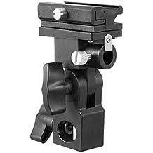 Selens Universal Soporte de Flash Paraguas Zapata Soporte de Luz Tipo B Holder Giratorio para Canon Nikon Sony Yongnuo Pentax Panasonic Sigma Speedlite