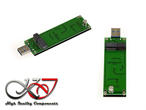 Kalea Informatique Adapter USB für SSD-Lenovo Carbon x1Ultrabook in 20+ 6Pin–USB3SuperSpeed 5Gbps (Carbon X1 Ssd)