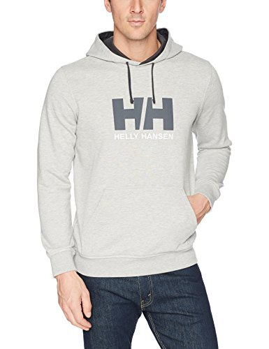 Helly Hansen HH Logo Hoodie Sudadera con Capucha, Hombre, (Gris 949),