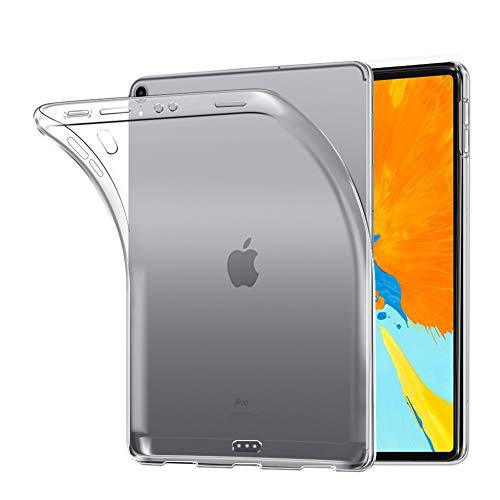A-VIDET Hülle für iPad Pro 11 2018, Ultra Dünn Durchsichtige Tablette Soft Flex Silikon TPU Case Cover für Apple iPad Pro 11 2018 - Transparent Zubehör-soft Case