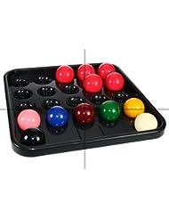 Cueball16 - Bandeja para bolas de billar (para 22 bolas)